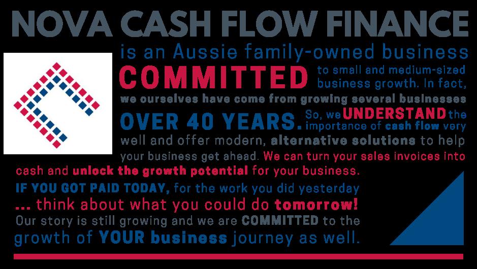 Brand Story - Nova Cash Flow Finance